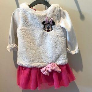 12-18 mo. Minnie Mouse dress + matching pants